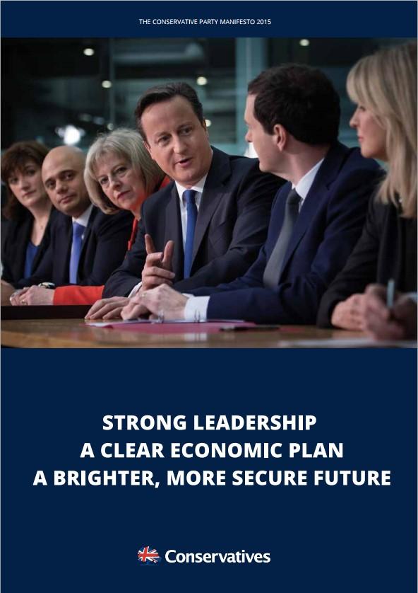 Election 2015: Conservative Party Manifesto pledges on Flood