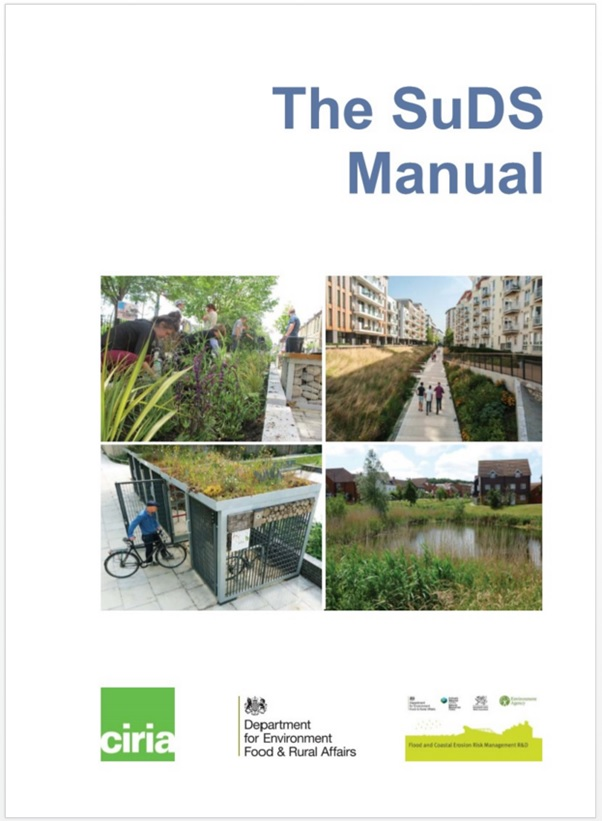 SuDS manual front cover