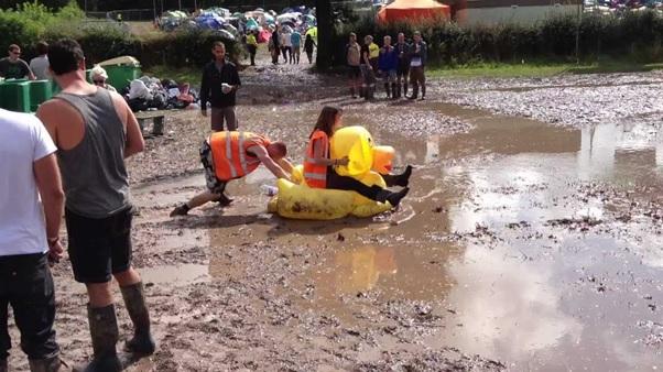 How to avoid a Summer Festival Flood!