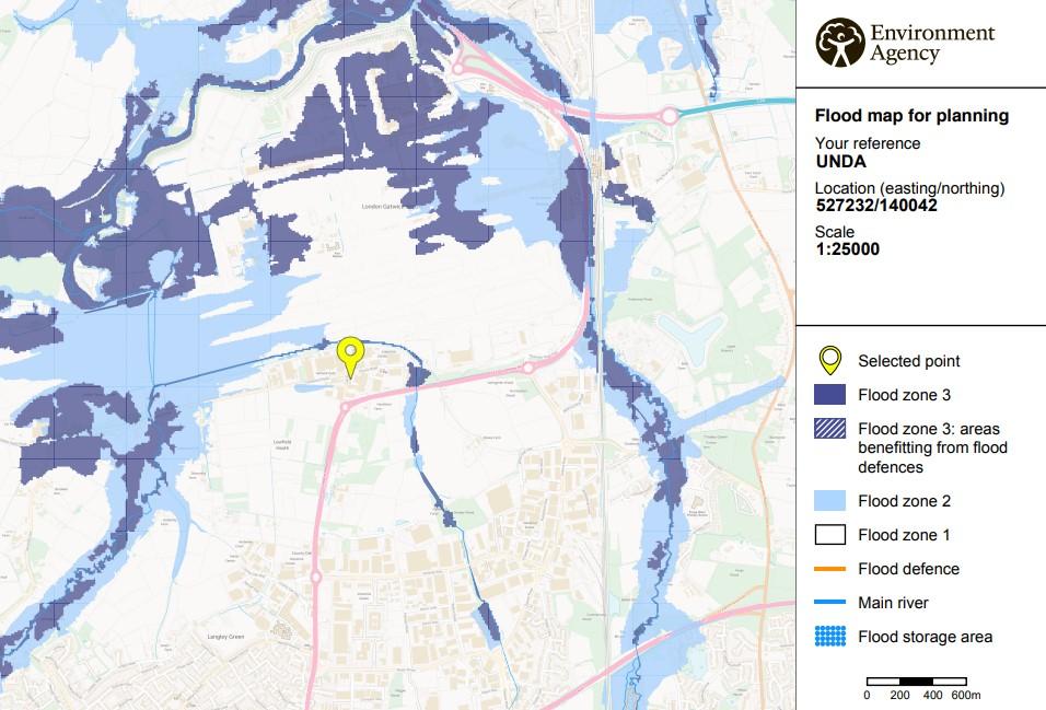 Flood Map for Planning - Flood Risk Assessment
